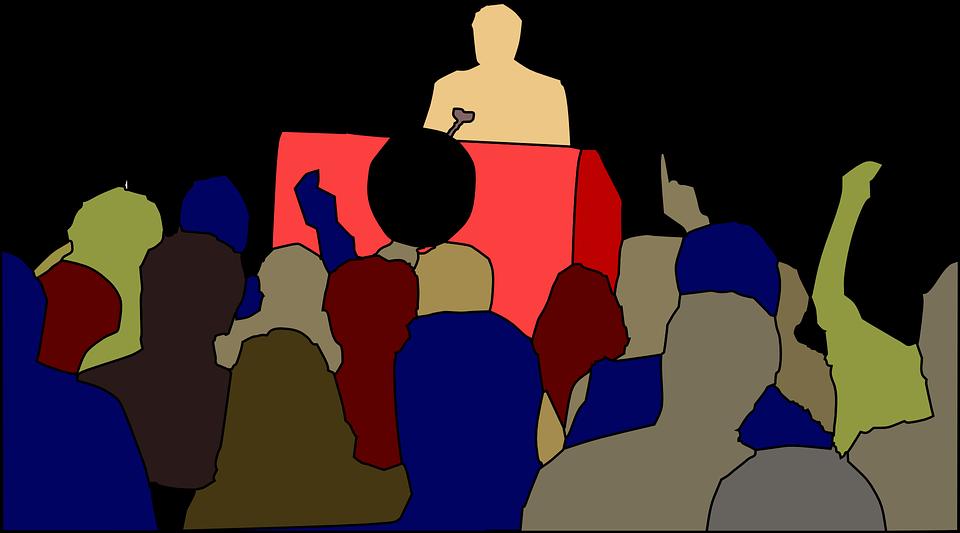 Three public speaking techniques