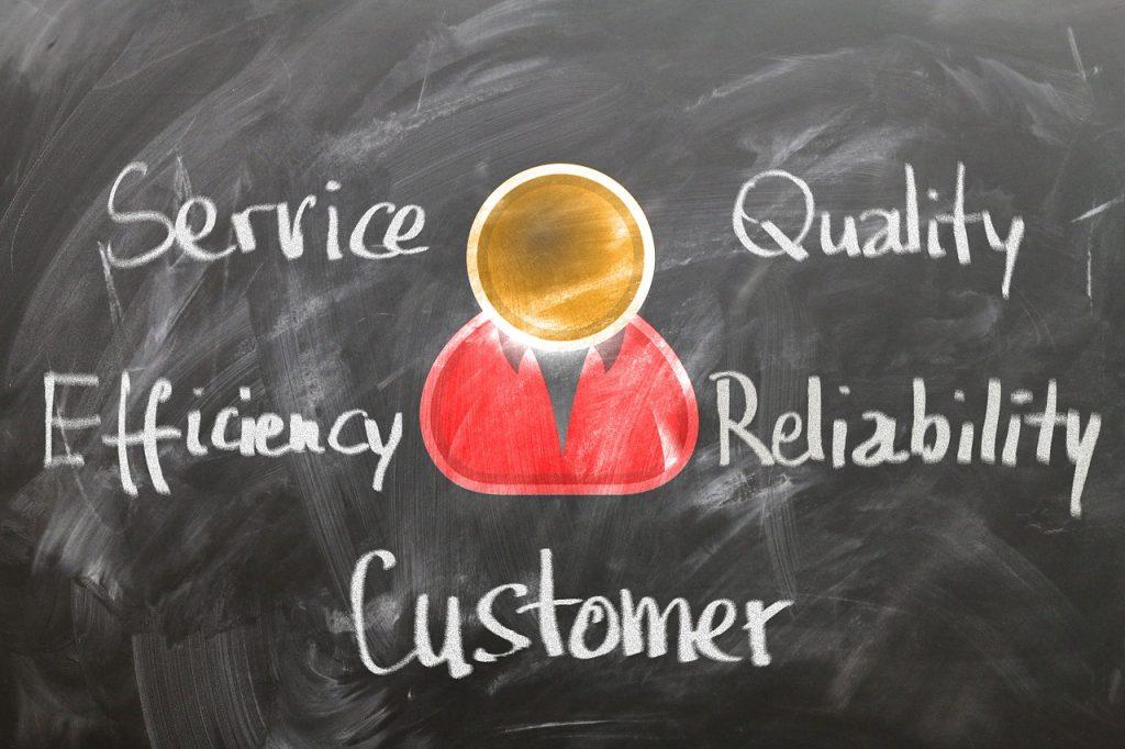 the customer service