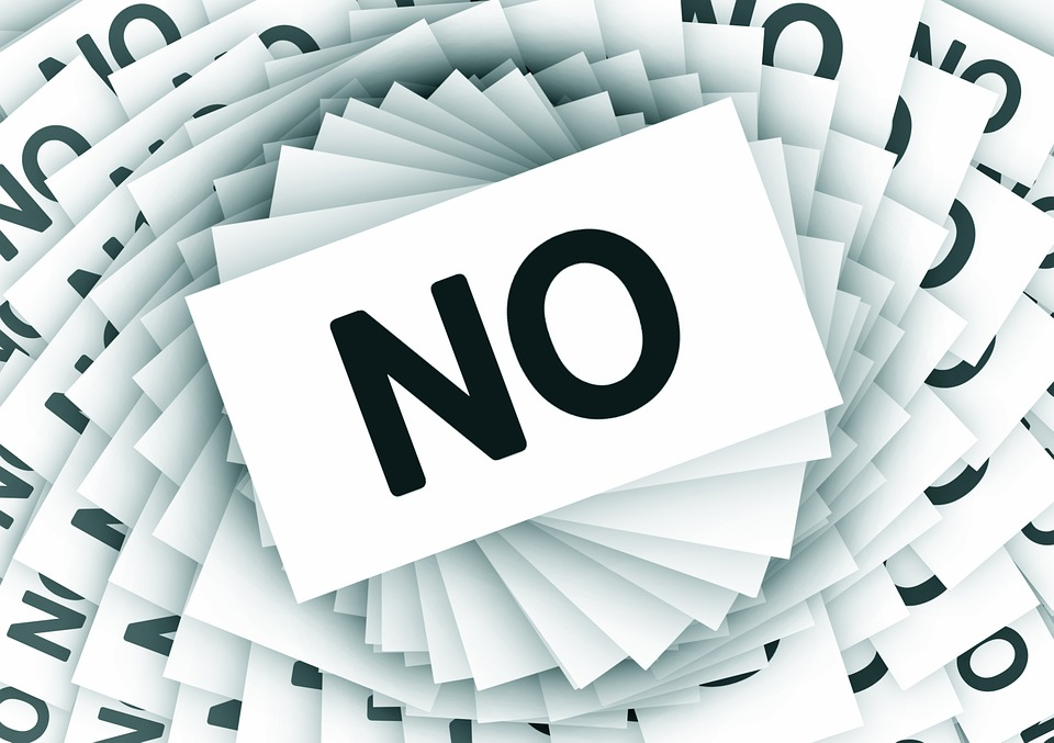 How to say no to people?