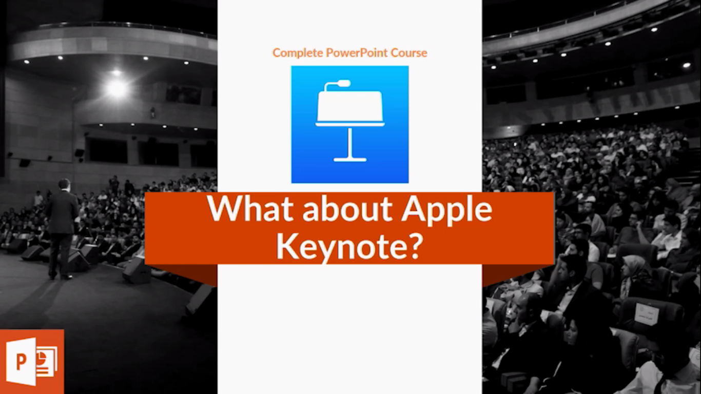 Choose one: PowerPoint or Keynote?
