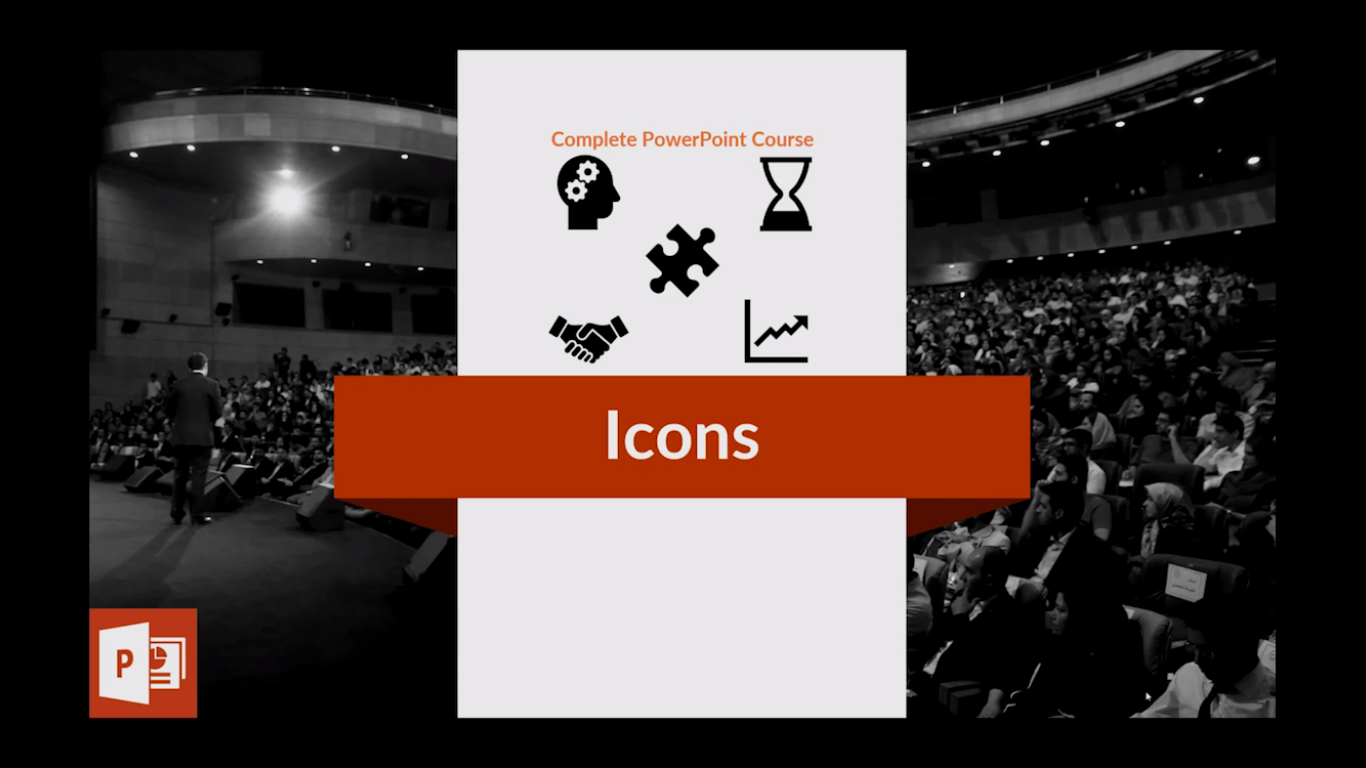 How to add icons on your slides?