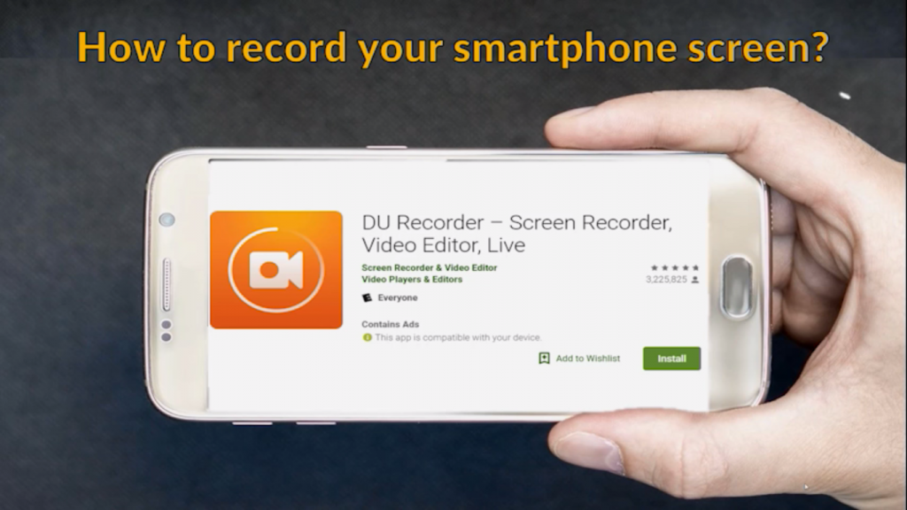 How is screen recording in presentations?